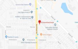 Map: 55 Northfield Rd., Bedford, Ohio