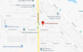 Map: 87 Northfield Rd., Bedford, Ohio