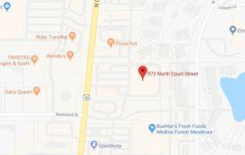 Map: 972 N. Court St. Medina, Ohio